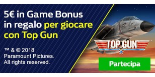 %€ Game Bonus per Top Gun
