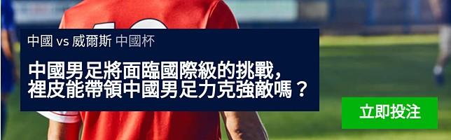 中國 vs 威爾斯