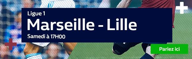 Marseille ₋ Lille - Toutes les Cotes