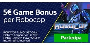 5€ in Game Bonus senza rischi