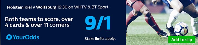 BTTS, Over 4 Cards, Over 11 Corners - 9/1