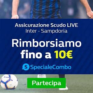 Assiicurazione Scudo Live Inter - Sampdoria