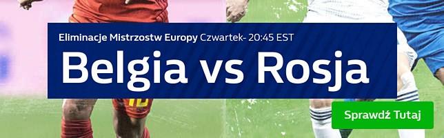 Belgia vs Rosja