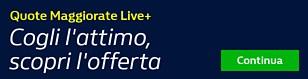 Quote Maggiorate Live+