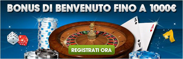 William Hill - Bonus di benvenuto