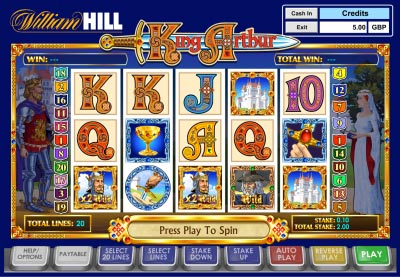 online william hill casino reel king
