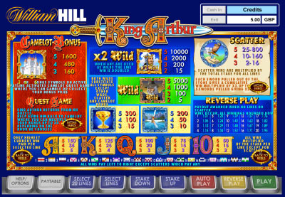 william hill online casino reel king