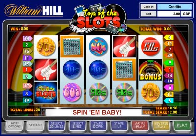 william hill online slots sizzling free games