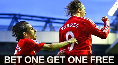 FREE BETS: William Hill special for Liverpool Debrecen & Standard Arsenal