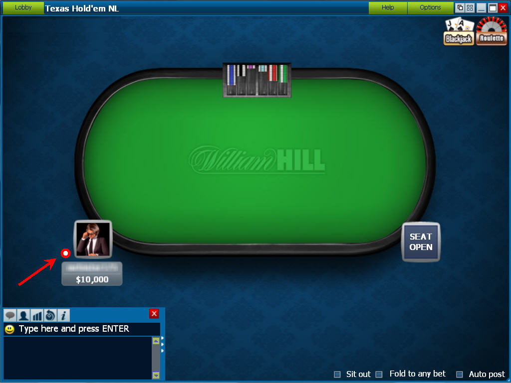 Beautiful William Hill Poker