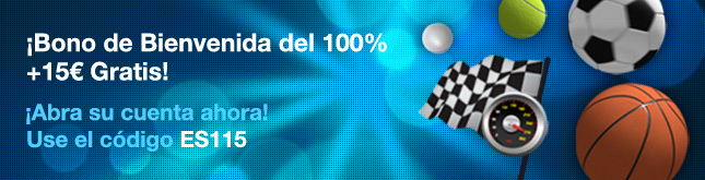 100 15 ES William Hill | Bono de 100 € gratis