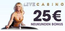 25€ Neukunden Bonus
