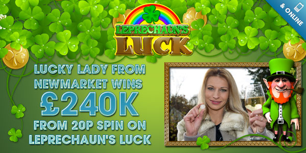 william hill online casino lady lucky charm