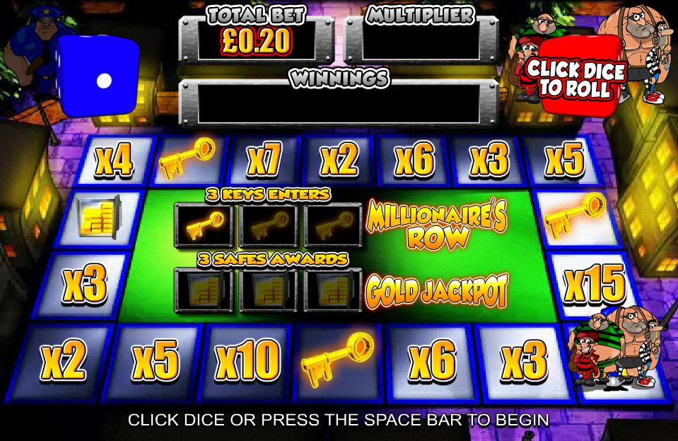 online casino gambling cops and robbers slot
