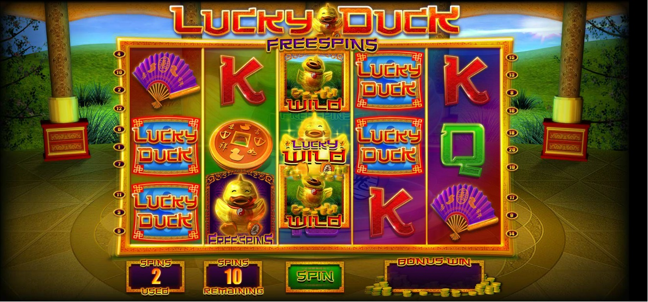 free casino games lucky duck