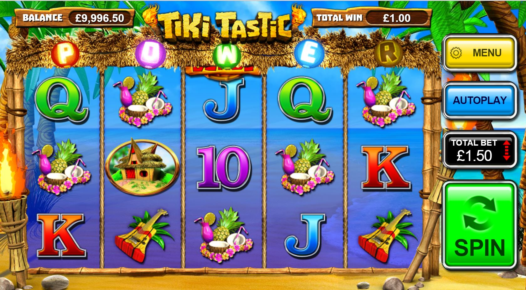Tiki Tastic Slots - Try your Luck on this Casino Game